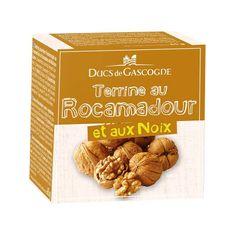 Ducs de Gascogne Terina se sýrem Rocamadour a vlašskými ořechy, 65g