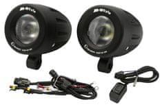 M-Style  Adventure univerzální přídavná LED světla 20W s kabeláží Honda Africa Twin