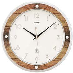 AMS design Designové nástěnné hodiny 5565 AMS řízené rádiovým signálem 31cm