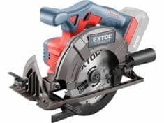 Extol Premium Píla okružná akumulátorová Share20V, bez aku a nabíjačky, kotúč 165mm