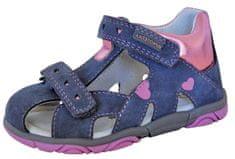 Protetika dievčenské sandále Katy grey