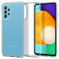 Spigen Liquid Crystal silikonski ovitek za Samsung Galaxy A52 5G/4G, prozoren