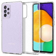 Spigen Liquid Crystal silikonski ovitek za Samsung Galaxy A72, glitter prozoren