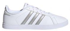 Adidas Dámská obuv COURTPOINT X Bílá / Stříbrná
