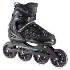 Nils Extreme kolieskové korčule NA1128 čierno-fialové
