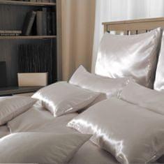 Naturaland Manjša Svilena posteljnina SVETLO RDEČA - Saten svila / 28 momme (mm)