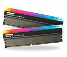 Klevv Cras XR RGB memorija (RAM), DDR4 16 GB (2x8GB), 3600 MHz, CL18, 1.35 V (KD48GU880-36A180Z)