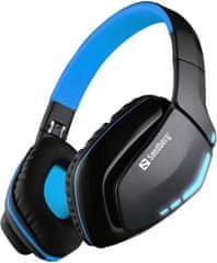Sandberg Bluetooth Headset Blue Storm s mikrofónom