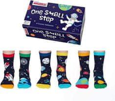 United Odd Socks Detské veselé ponožky One small step veľ.: 27-30