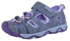 Protetika dievčenské sandále Dafy lila