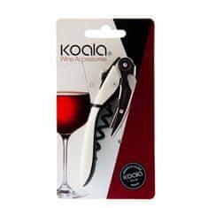 Koala KOALA Vývrtka na víno bílá