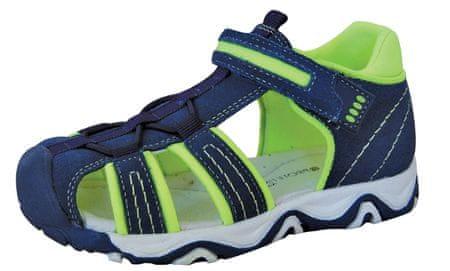 Protetika sandale za dječake Ralf green, 34, tamno plave