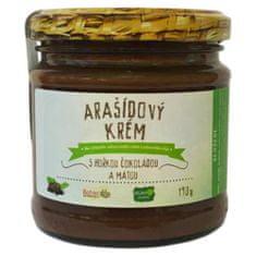 Božské oříšky Arašídový krém s hořkou čokoládou a mátou 190 g