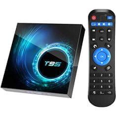 Smart Plus T95 Allwinner H616 Android 10 TV sprejemnik (2,4G in 5G dual WiFi) 4GB/32GB