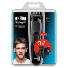 Braun SK2000 urejevalni set, 3 v 1