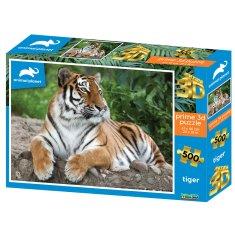 Animal Planet 3D sestavljanka Tiger, 500/1, 61 x 46 cm