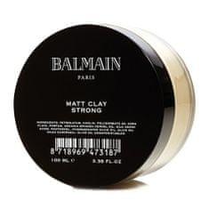 Balmain Jíl na vlasy , Matt Clay Strong, 100 ml