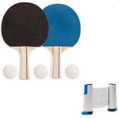 LocoShark Loparji in mreža za namizni tenis (komplet)