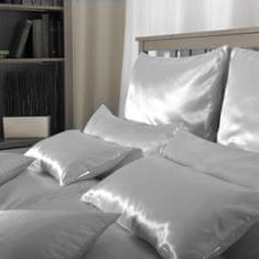 Naturaland Velika Svilena posteljnina SVETLO MODRA 1 - Saten svila / 28 momme (mm)