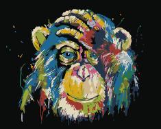 Kouzelný Art Veselá opica