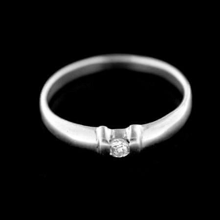 Amiatex Ezüst gyűrű 70546, 59