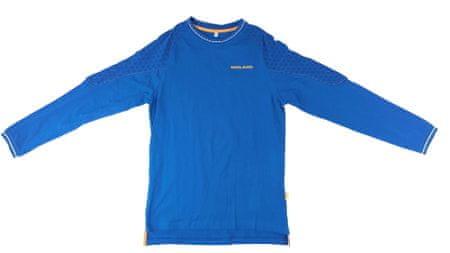 MAYA MAYA Moška majica z dolgimi rokavi za prosti čas - HAMAR, modra, XXL