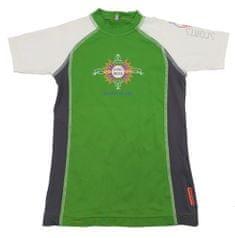 MAYA MAYA Otroška UV zaščitna majica, lycra, zelena