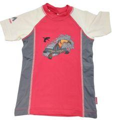 MAYA MAYA Otroška UV zaščitna majica, lycra, pink