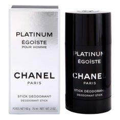 Chanel Platinum Egoiste For Men Deo Stick 75ml, Platinum Egoiste For Men Deo Stick 75ml