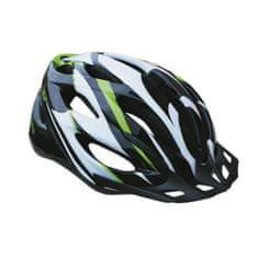 Sulov Spirit kolesarska čelada, črno-zelena