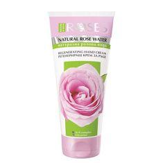 ELLEMARE Krém na ruce ROSES s přírodní růžovou vodou pro sametové rue 75ml