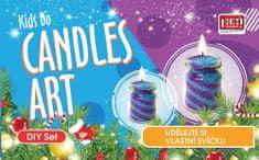 PEXI CANDLES ART - Pískové svíčky 2 ks Zimní