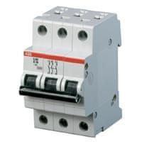 ABB Jistič 25A třífázový elektrický ABB 2CDS273001R0255 S203M-B25 B 10kA