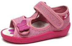 Ren But dívčí plátěné sandály 13-140_P-0729