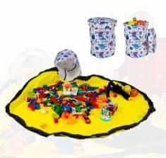 Bubnovi Úložný box na hračky s hrací podložkou