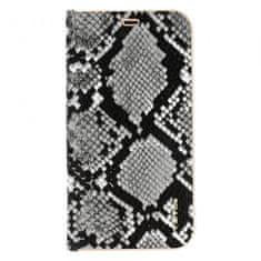 Maska za iPhone 12 Pro, preklopna, crno-bijela