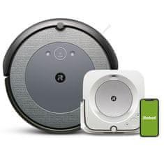 IROBOT Set robotického vysavače a mopu Roomba i3 a Braava jet m6