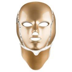 Palsar7 PALSAR7 Ošetřující LED maska na obličej a krk (zlatá)