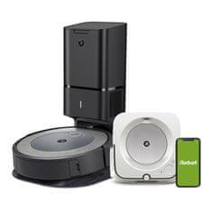 IROBOT Set robotického vysavače a mopu Roomba i3+ a Braava jet m6
