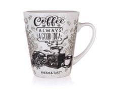 Banquet kubek ceramiczny COFFEE 360 ml biały