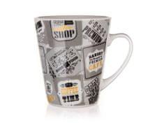 Banquet kubek ceramiczny COFFEE 360 ml szary