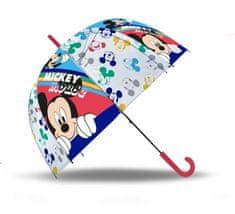 "EUROSWAN Automatický dáždnik transparentný ""Mickey Mouse"""