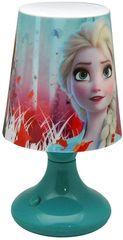 "EUROSWAN Nočna lučka ""Frozen"" - turkizno"