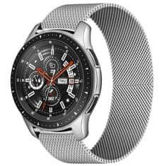 4wrist Milánský tah pro Samsung Galaxy Watch - Stříbrný 22 mm