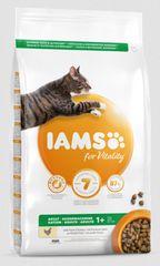 IAMS suha hrana za zdrave odrasle mačke, pišč