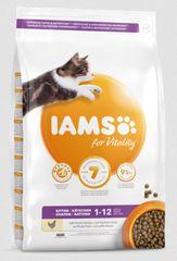 IAMS suha hrana za zdrave mačje mladiče, piščanec