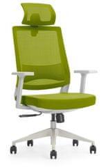 Hyle K3-GH-BCJIT pisarniški stol, zeleno-siv