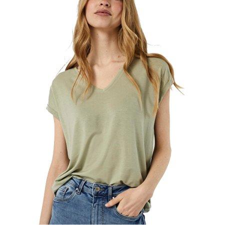 Vero Moda Női póló VMAVA 10235286 Desert Sage (Méret XS)
