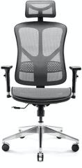 Diablo Chairs V-Basic, černá/šedá (5902560337259)