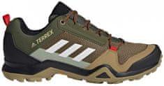 Adidas Turistická obuv Terrex AX3 Hnědá / Zelená